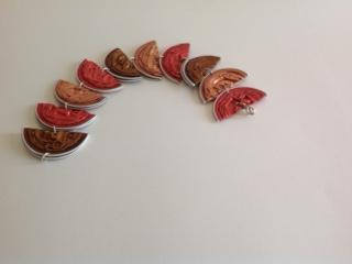 """Halve Maantjes Armband """"Warm Autumn"""""""