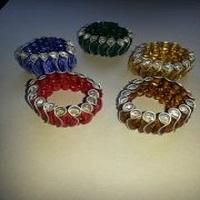 Voorbeelden Wikkelarmbanden